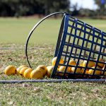The Net Return practice net on fairway first golf