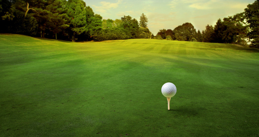 golf course slope
